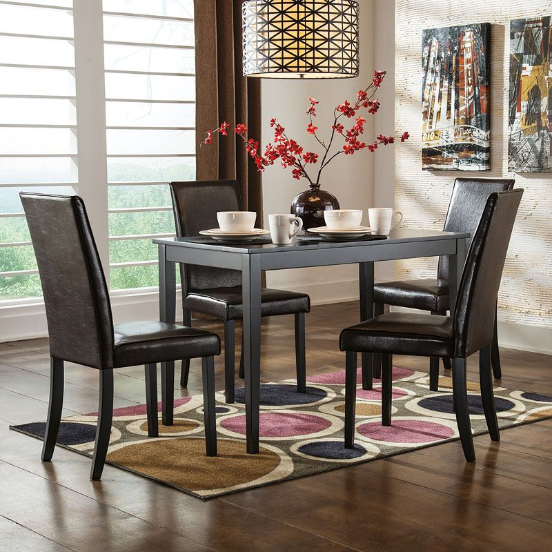 The Straight Line Contemporary Design Of The Kimonte Dining Room