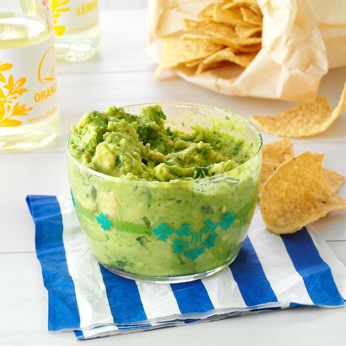Homemade Guacamole Recipe -Nothing is better than fresh guacamole when you're eating something hot. It's easy to whip together in a matter of minutes and quickly tames anything that's too spicy. —Joan Hallford, North Richland Hills, Texas