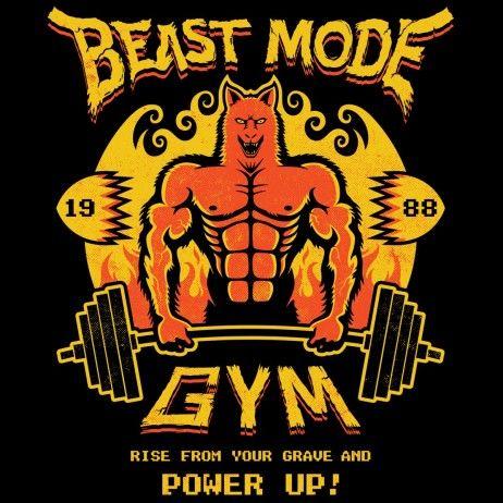 Beast Mode Gym Beast Mode Altered Beast Gym Logo