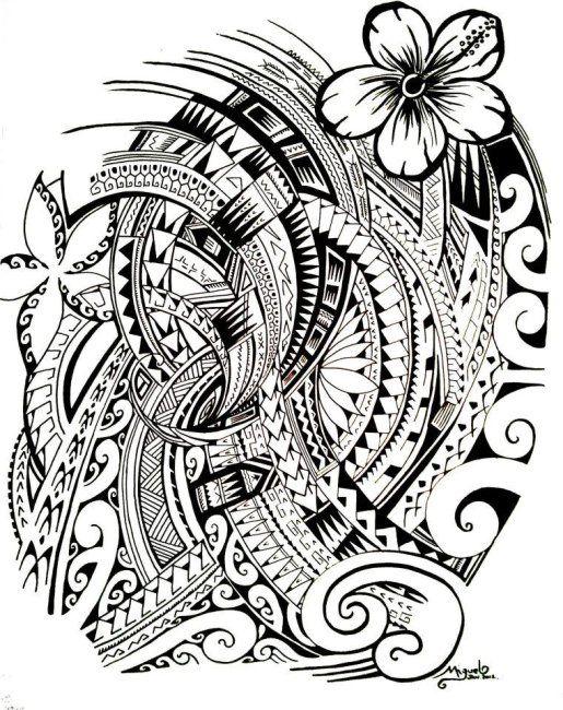 48 Coolest Polynesian Tattoo Designs Tatouage Dessin Polynesien