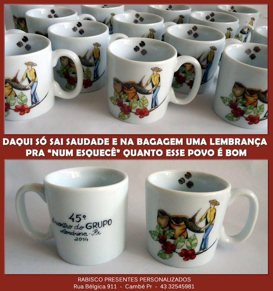 Cafezinho personalizado - Lembrança de evento