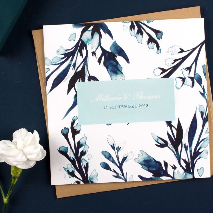 Eine rustikale Atmosphäre ein Vintage-Strang für die Hochzeit Einladung Mitternachtsblau … #weddingmarket #makeflouri #rusticwedding #bucolicweddingcard