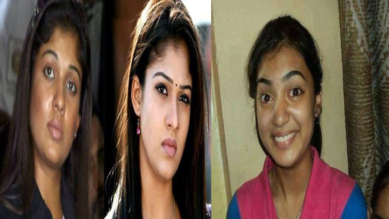 top 10 south indian actress without makeup || shoking ! how