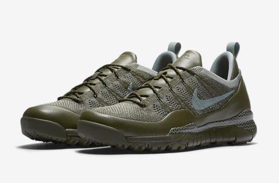 more photos c50f9 09975 The Nike ACG Lupinek Flyknit Low Is Now Available In Cargo Khaki
