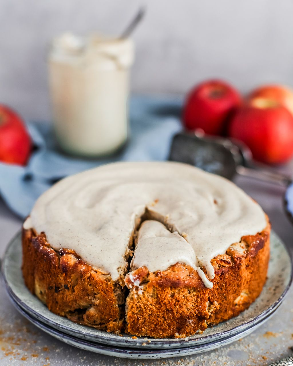 Apple Almond Cake Delicious And Healthy By Maya Recipe Almond Cakes Apple And Almond Cake Sugar Free Vegan