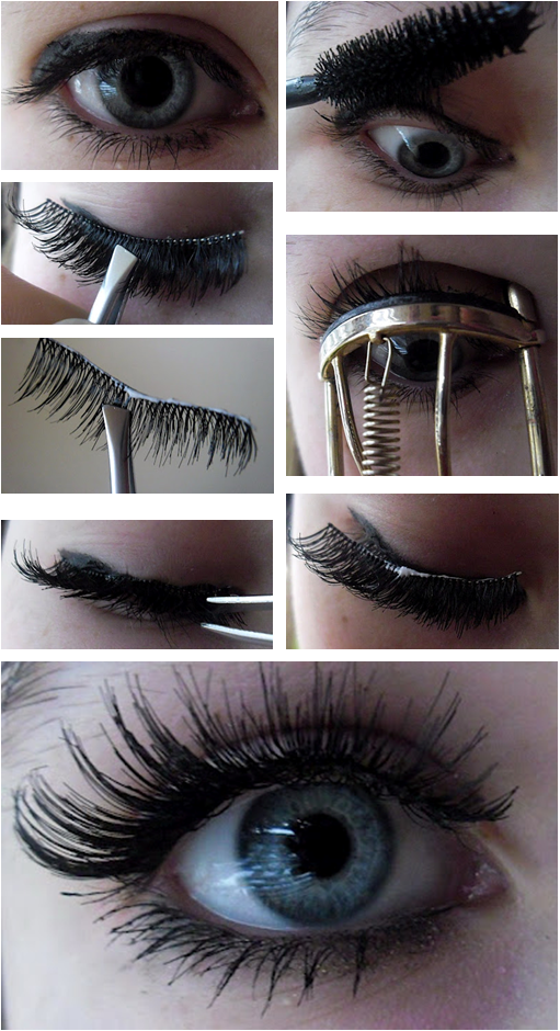 1f19db7098 Pin by leanne mushisky on Delicious dinners | Applying false lashes ...