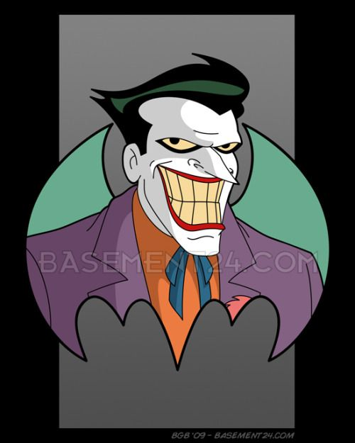 The Joker From Btas Tnba Barry Bradfield With Images Joker