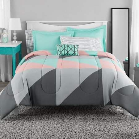 Home Products In 2019 Teal Bedding Bedroom Comforter Sets