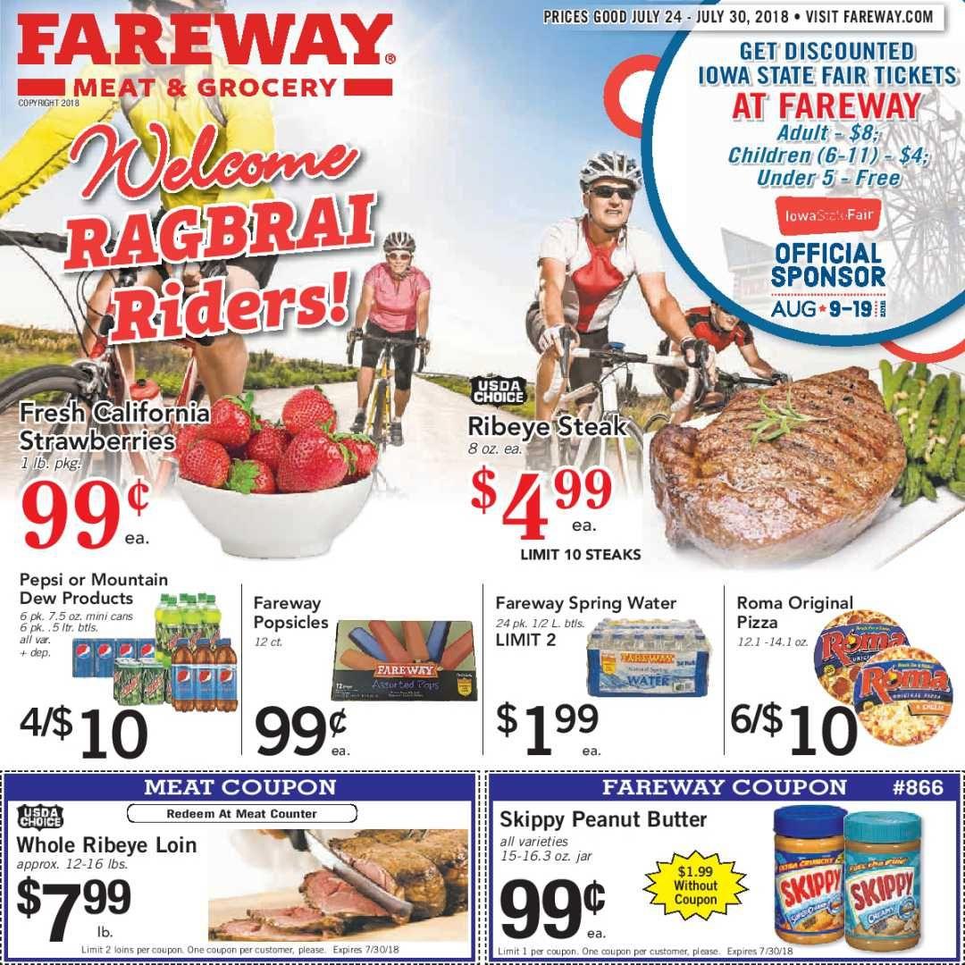 Fareway Weekly Ad Flyer January 15 21, 2019 Fareway
