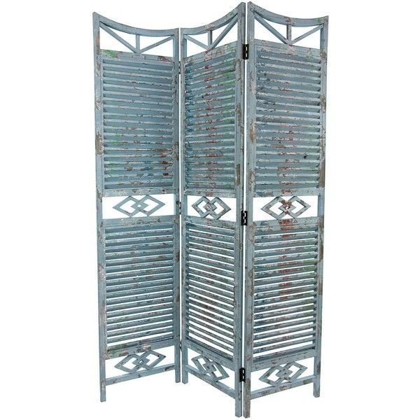 5 Ft Tall Rustic Slatted Room Divider Decoracao Ambiente