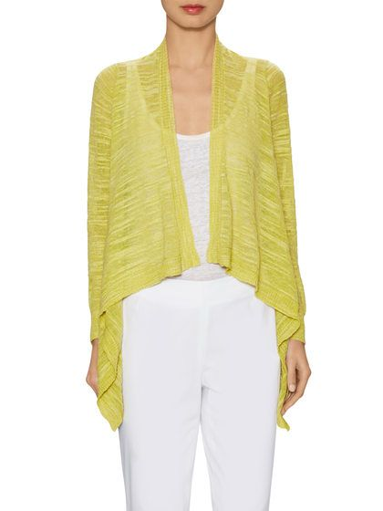 Textured Cascading Cardigan by Lafayette 148 New York at Gilt