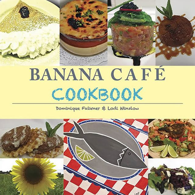 """Key West's - 'The Banana Cafe Cookbook' - marks their 20th Anniversary. Delicious favorite recipes are presented the """"easy way."""""""