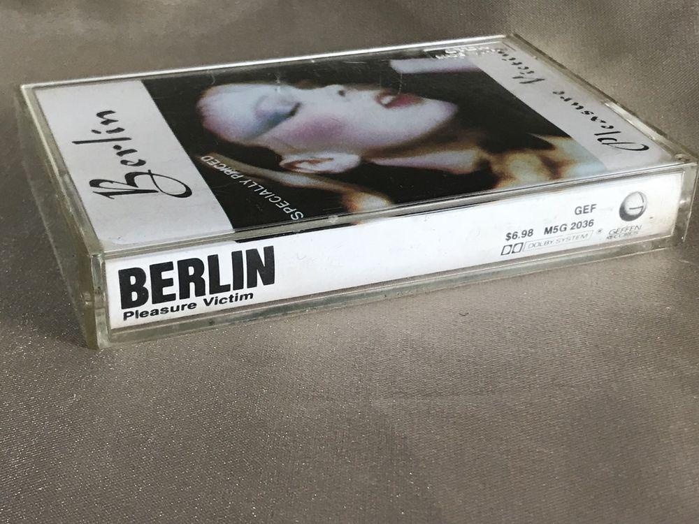 Vintage, Berlin, Pleasure Victim, Geffen Records, 1982