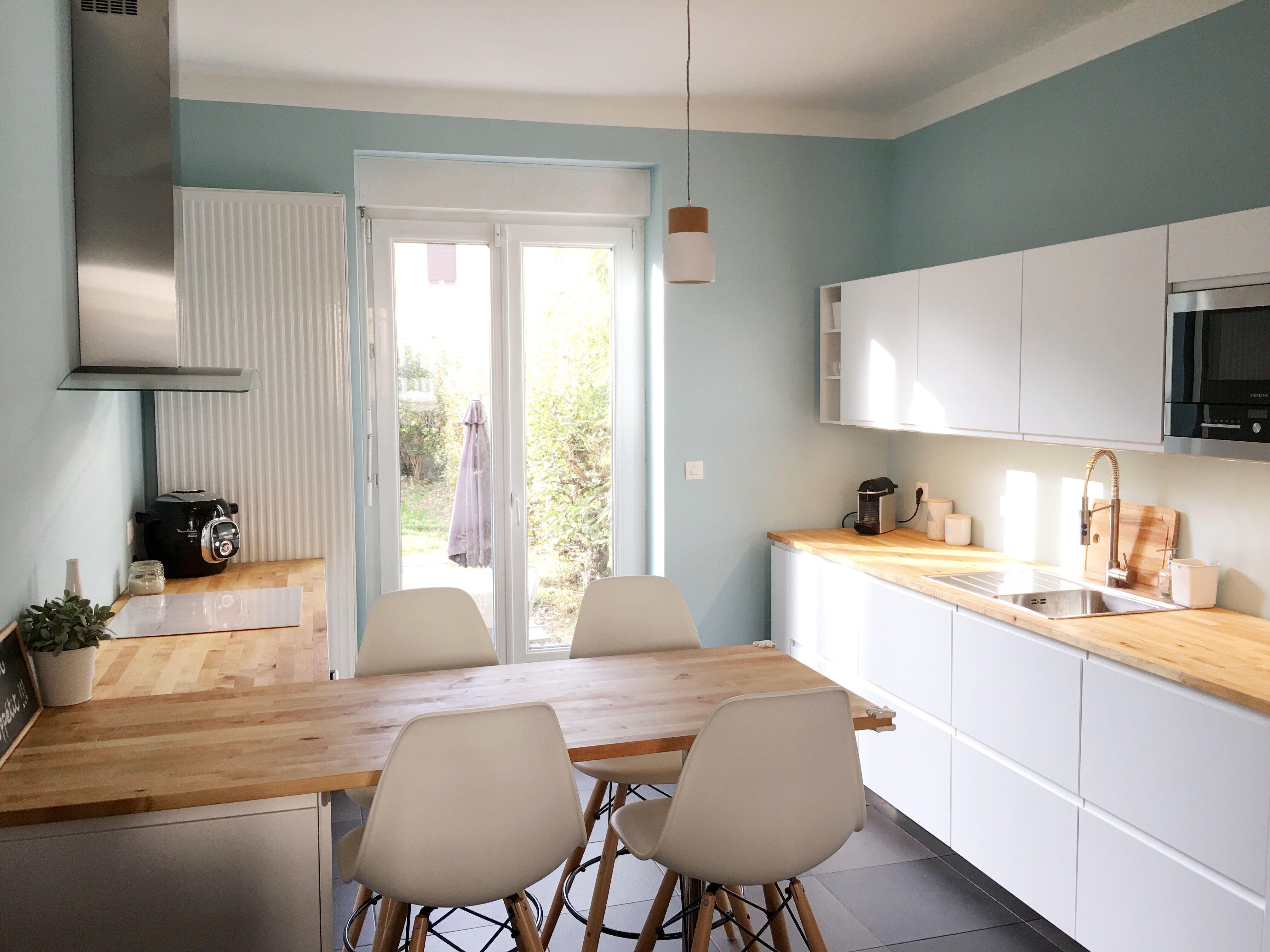 Ikea cuisine voxtorp beige in 18  Kitchen design, Ikea kitchen
