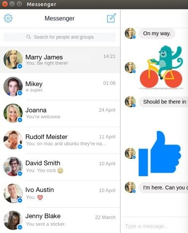 Facebook Messenger Download for Linux | Facebook Messenger
