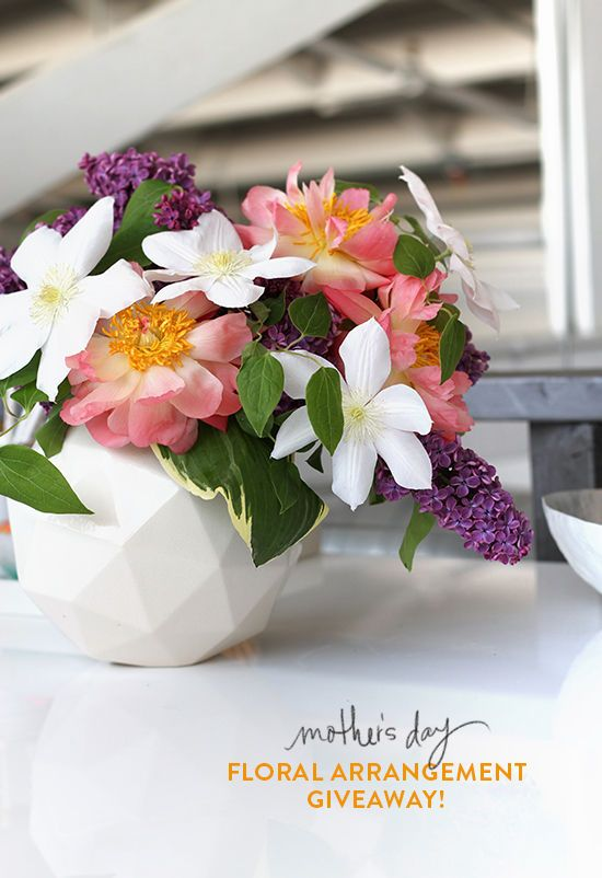 MOTHER'S DAY FLORALS / GIVEAWAY | D E S I G N L O V E F E S T