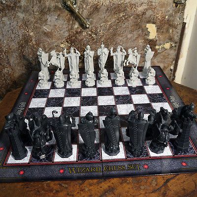 harry potter wizard chess set final challenge licensed the noble collection new for gbp49