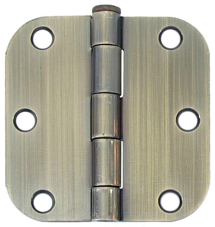 3inch antique brass 58rd door hinge 2 pack door