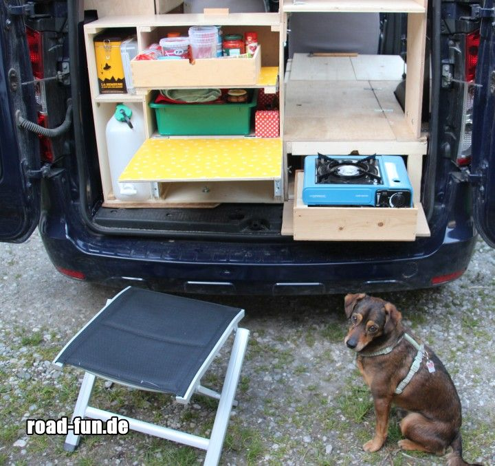 Camping Küche Ideen: Camping Küche Im Dacia Dokker