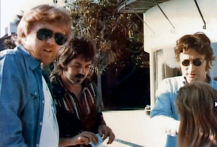 Harry Nilsson, Paul McCartney, and John Lennon, 1974. | Lennon and ...