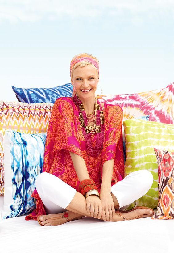 Prints and color – a perfect pair #chicos: