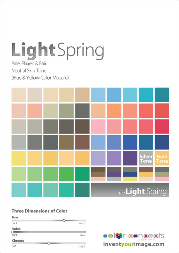 Colors for a Light Spring Man www.inventyourimage.com Copyright © 2011 No part of these materials may be  reproduced, distributed or transmitted in any form or by any means  unless prior written permission is given by  Lisa K. Ford- CEO and Founder of  Invent Your Image, LLC #coloranalysis