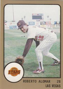 1988 Procards 231 Roberto Alomar Front 1988 Baseball