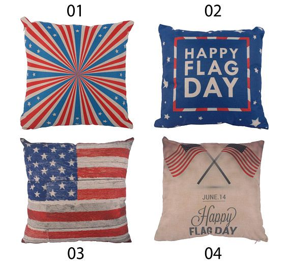 American Flag Throw Pillow Cover Stars And Stripes Decorative Beauteous American Flag Decorative Throw Pillow