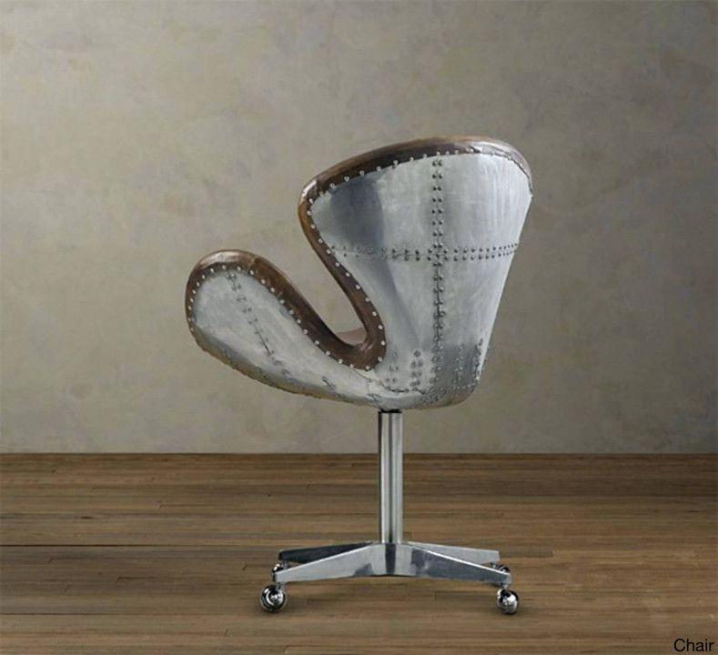 aviator desk chair restoration hardware organization ideas for