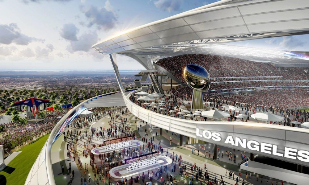 Rams Chargers Stadium Delayed Until 2020 Stadium Design San Diego Chargers Stadium