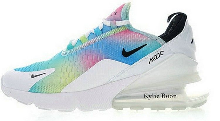 newest collection 31b17 a7716 Nike Air Max 270 Flyknit White Rainbow AH6789 700