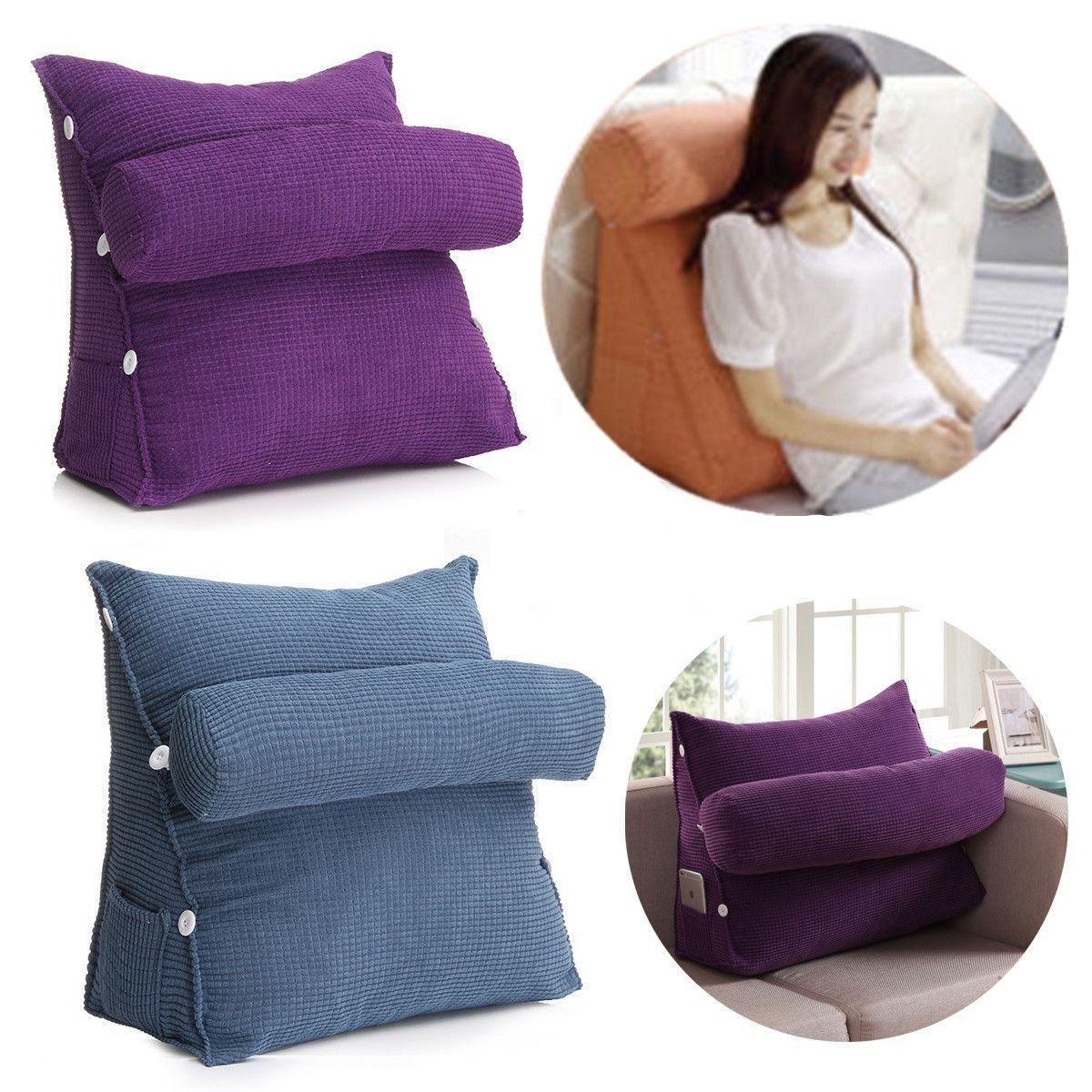 Home In 2020 Sofa Pillows Sofa Bed Office Wedge Cushion