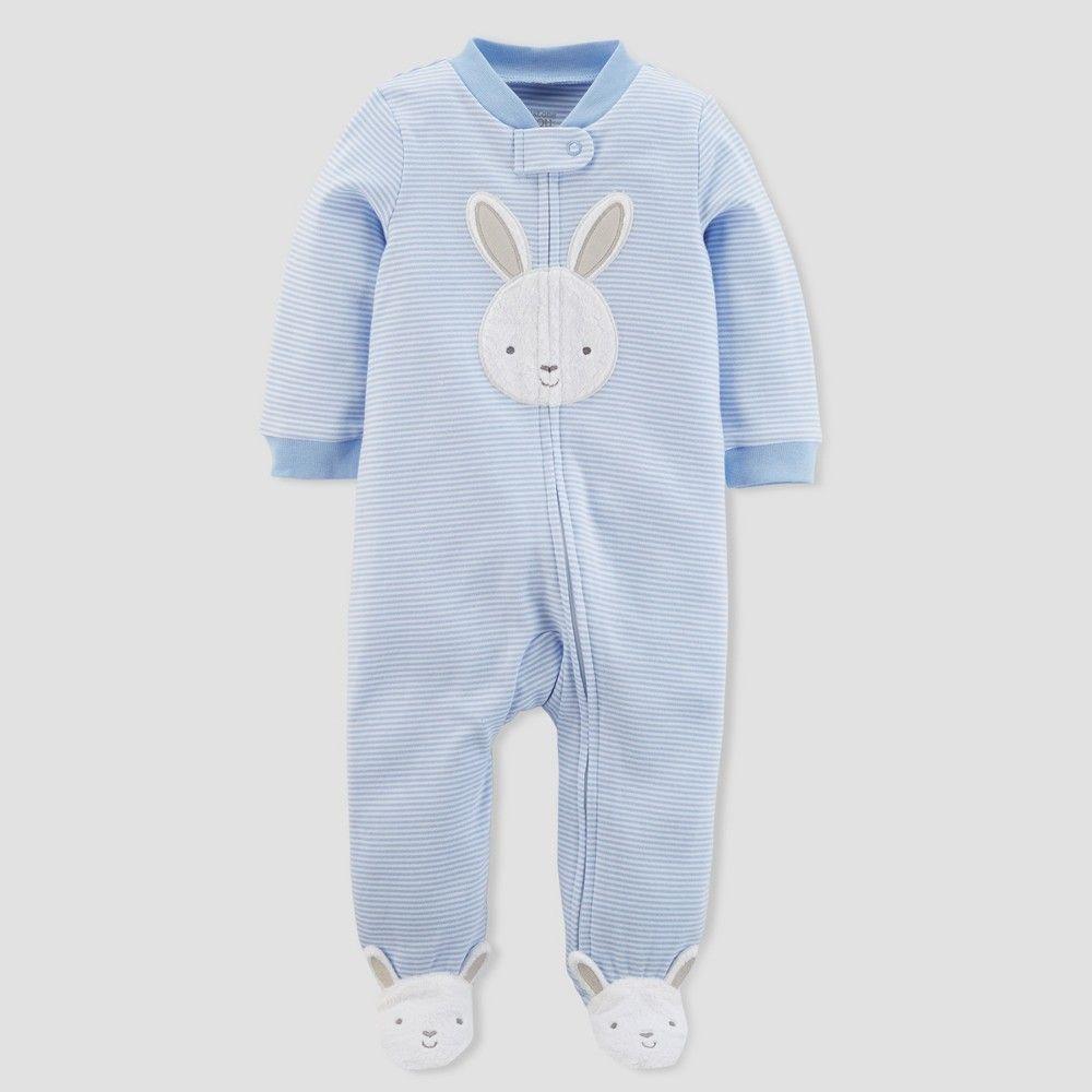 Carter/'s Baby Boy Just One You Sleep or Play Bunny Pajama Newborn