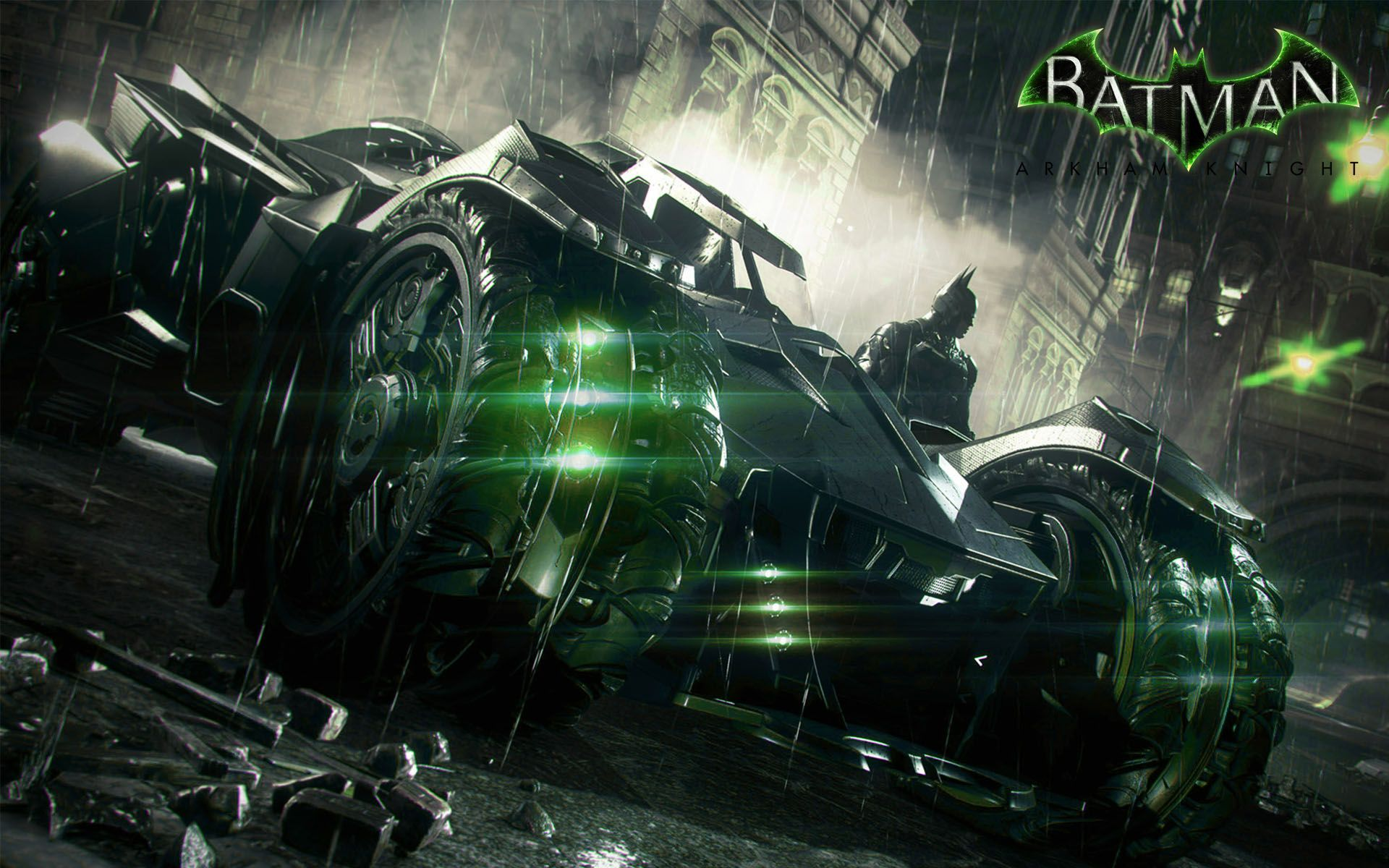 Batman Arkham Knight Batmobile Wallpaper | Games ...