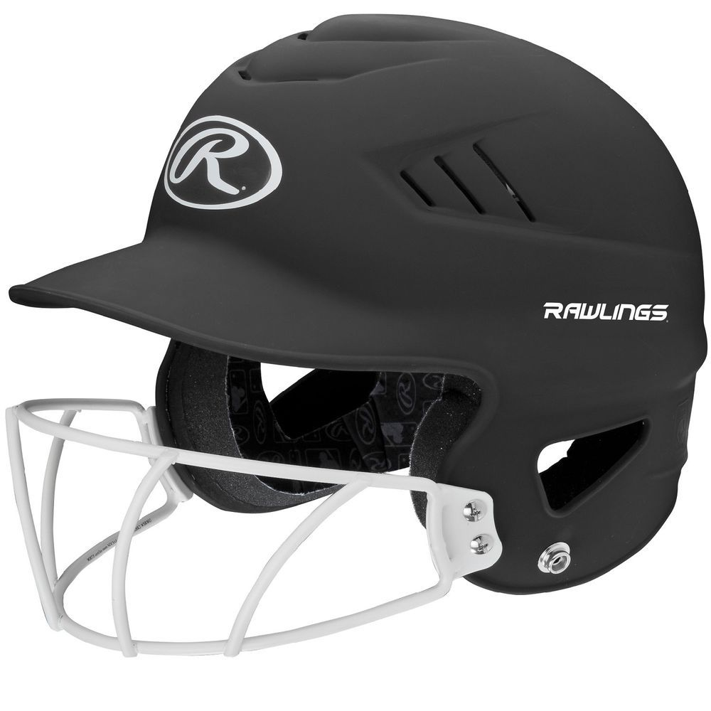 RCFHLFGMBK Rawlings Coolflo Highlighter Softball Helmet