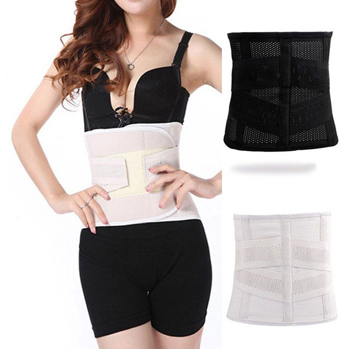 cc2af798c07fd Breathable Slimming Belt. Women Body Shaper Belly Band Postpartum Recovery  Belt Slimming Corset Girdle Adjustable