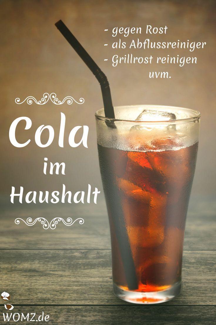 Cola im Haushalt Das kannst du mit dem Getränk putzen