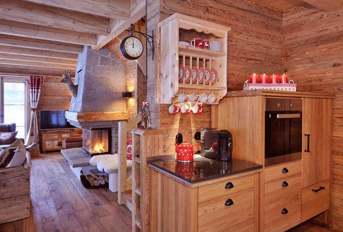 Holzhaus am Schlossberg Holzhaus Blockhaus Holzhäuser Fullwood - interieur in weis und marmor blockhaus bilder