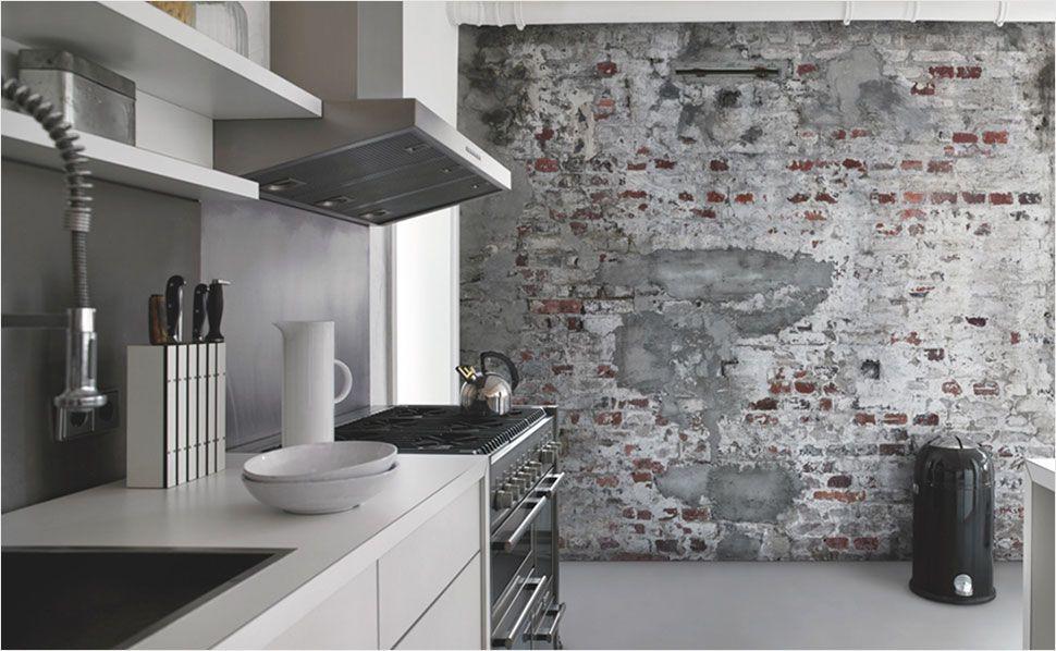 Phänomenale Inspiration Tapete Küche Und Elegante Tapeten Für