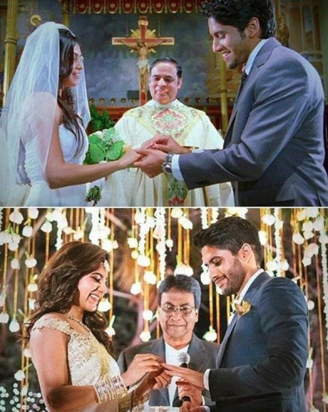 Nagarjuna's Son Naga Chaitanya Engaged To His Ladylove Samantha Prabhu Nagarjuna's Son Naga Chaitanya Got Engaged To His Ladylove Samantha Prabhu -