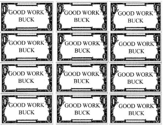 Bible Bucks Printable Templates