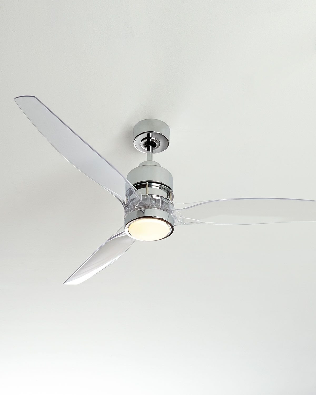 52 Sonet Chrome Ceiling Fan Chrome Ceiling Fan Ceiling Fan Modern Ceiling Fan