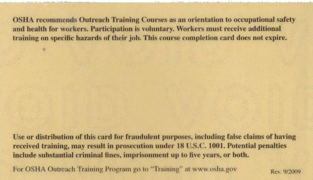 Osha 30 Certificate Template Elegant Does Osha Card Expire Certificate Templates Birth Certificate Template Awards Certificates Template