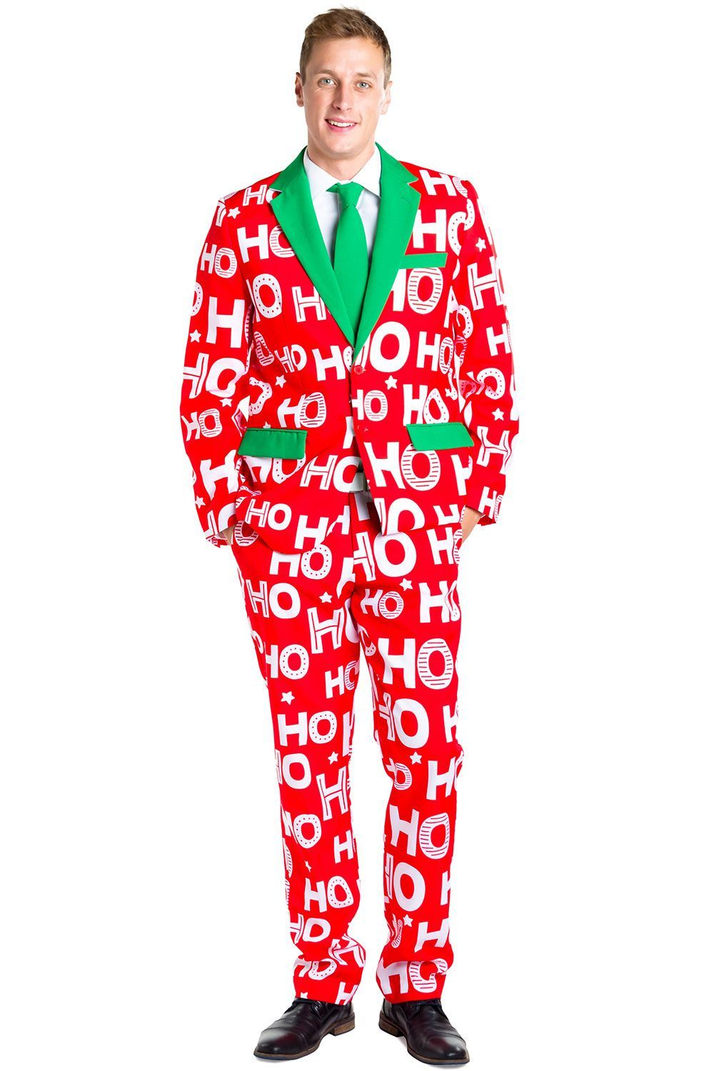 Red Santa Mens Vest S-2XL Funny Printed Christmas Xmas Outfit Fancy Dress Top