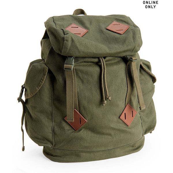 9a4fe2b6db Aeropostale Solid Parachute Buckle Backpack ($35) ❤ liked on ...