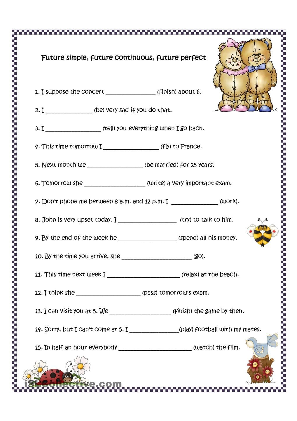 small resolution of 19+ Simple Future Tense Worksheets Pdf