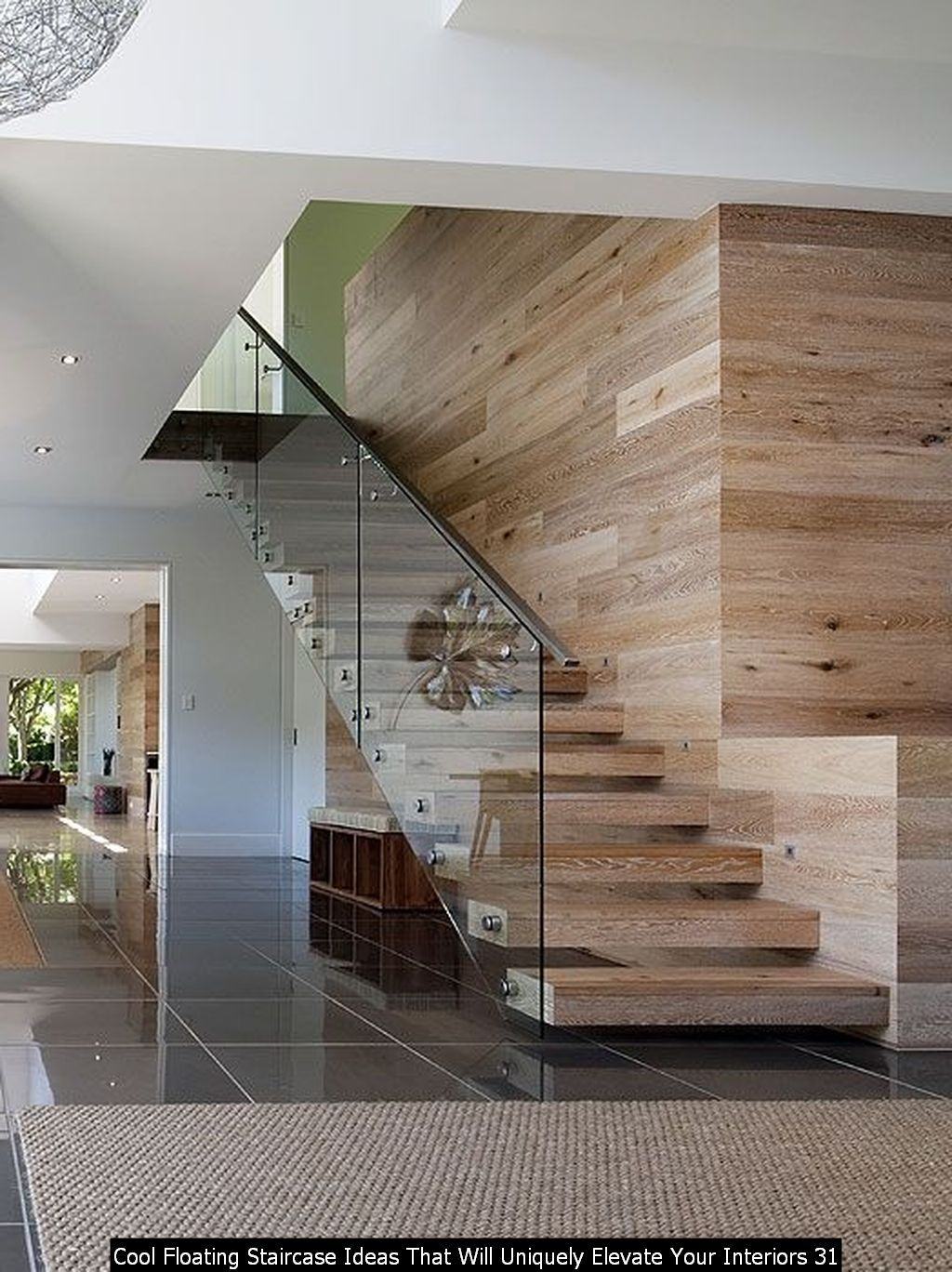 30 Cool Floating Staircase Ideas That Will Uniquely Elevate Your Interiors In 2020 European White Oak Floors Beautiful Bedrooms Modern Floating Staircase