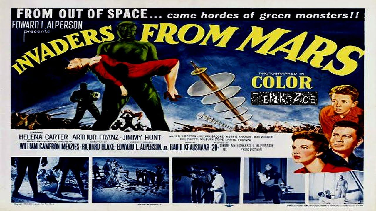 Invaders from mars 1953 a scifi horror movie trailer