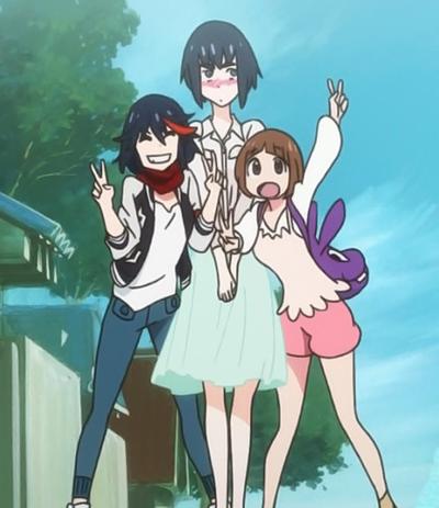 Resultado de imagem para ryuko e mako satsuki