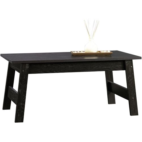 Sauder Beginnings Collection Coffee Table Black Coffee Table